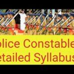 Andaman & Nicobar Police SI, Constable Syllabus 2018