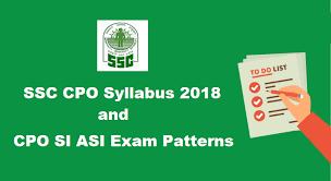 SSC SI Syllabus PDF