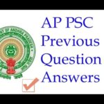 APPSC Previous Papers