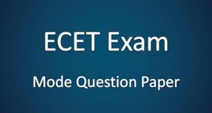 AP ECET Question Papers PDF
