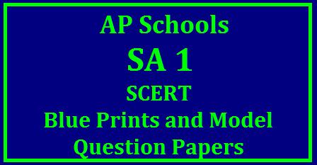 AP SA1 Model Papers - Download