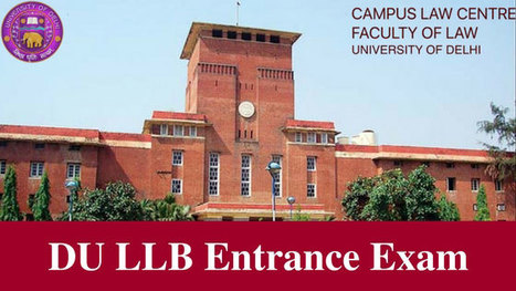 DU LLB Entrance Exam Syllabus & Pattern 2019