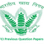 FCI JE Question Papers