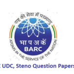 BARC Question Papers