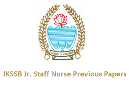 JKSSB Junior Staff Nurse Previous Papers