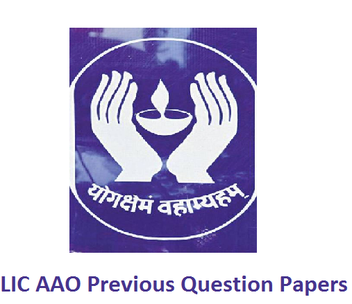 LIC AAO Previous Question Papers