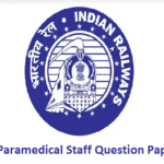 RRB Paramedical Staff Question Papers