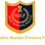 WB Warder Previous Question Papers