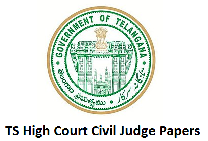TS High Court Civil Judge old Previous Papers